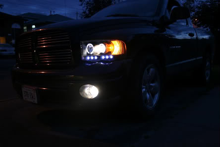 Halo Headlights 2012 Dodge Ram Dodge Ram 1500 2500 Halo Led