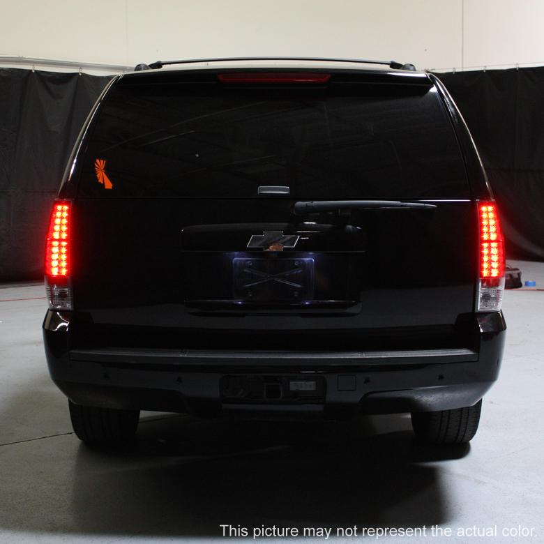 Chevy Lift Kits >> 07-13 Chevy Suburban / Tahoe / Yukon Performance LED Tail Lights - Chrome 111-CSUB07-LED-C By Spyder